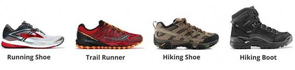 مقایسه کفش های کوهنوردی