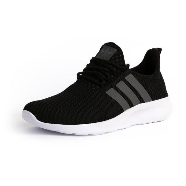 کفش-ورزشی-مردانه-سه-خط-مشکی-مدل-rzai