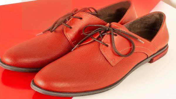 کفش چرم پارینه