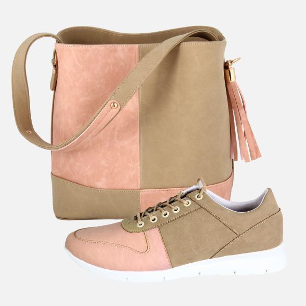 لیست قیمت ۱۶ مدل ست کیف و کفش زنانه شیک و راحت همراه با خرید اینترنتی