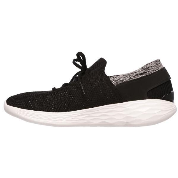 کفش راحتی زنانه اسکچرز مدل14960BKW