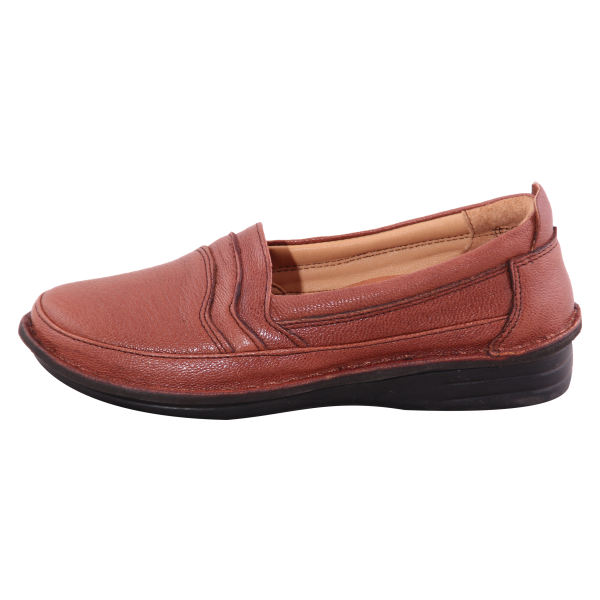 کفش روزمره زنانه شهر چرم مدل IR01014-12
