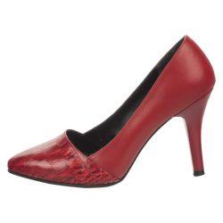 کفش زنانه چرم یاس مدل ساتا کد 0012