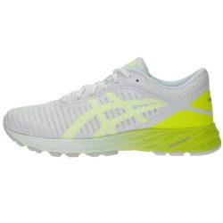 کفش مخصوص دویدن زنانه اسیکس مدل Dyna Flyte سفید-زرد