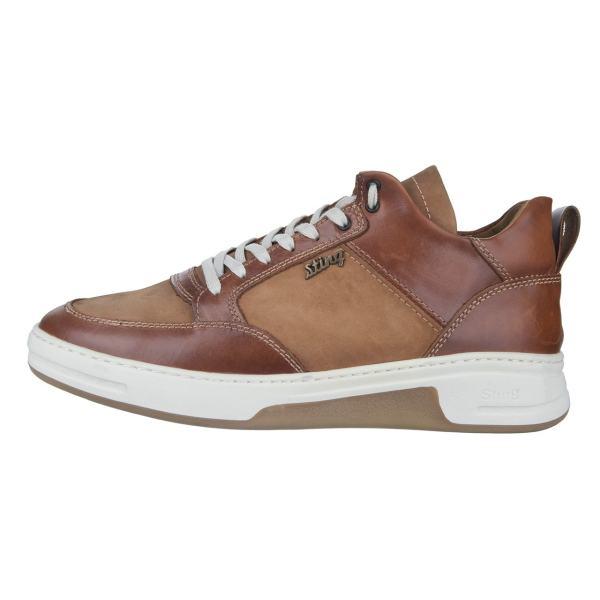 کفش مردانه چرم طبیعی استینگ مدل S1 عسلی