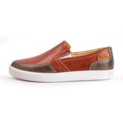 کفش مردانه چرم طبیعی پاندورا مدل M2503 عسلی
