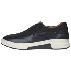 کفش چرم مردانه استینگ مدل بی بند 01 مشکی
