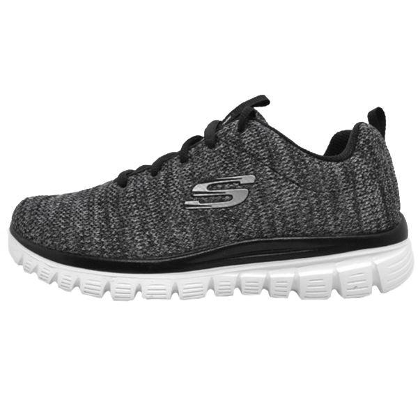 کفش پیاده روی زنانه اسکچرز 12614BKW