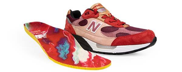 بهترین کفش دنیا جو فرش گودس ایکس نیوبالانس 992