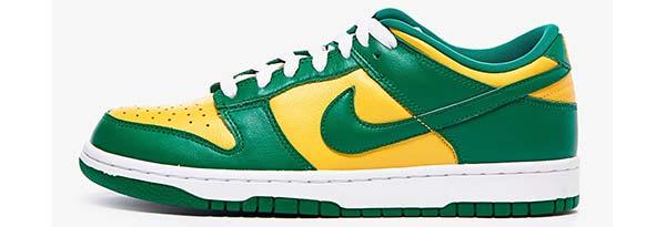 بهترین کفش دنیا مدل نایکی دانک لو برزیل