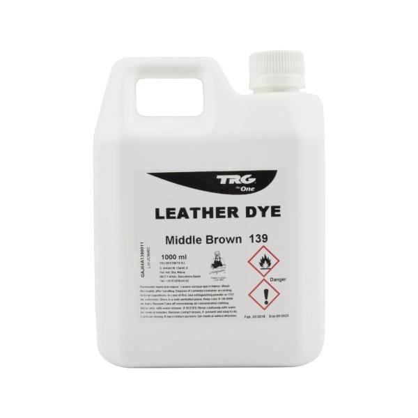 واکس تغییر دهنده رنگ چرم تی آر جی مدل leather dye