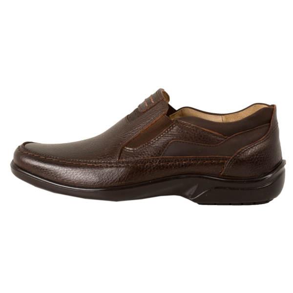 کفش روزمره مردانه پارینه چرم مدل SHO207-7