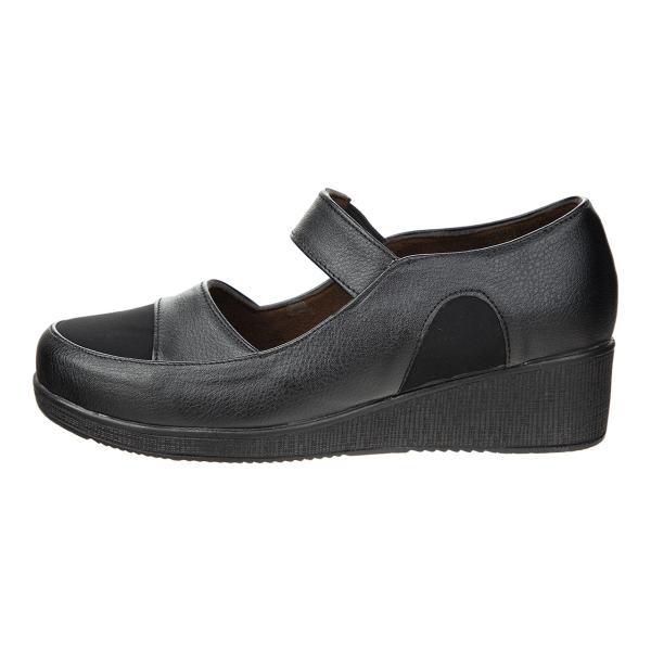 کفش زنانه طبی سینا مدل آیدا مشکی کد 15