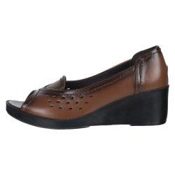 کفش زنانه طبی سینا مدل هلن عسلی