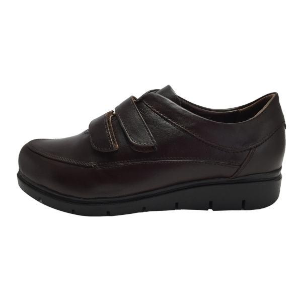 کفش طبی زنانه مدل B56 رنگ قهوه ای