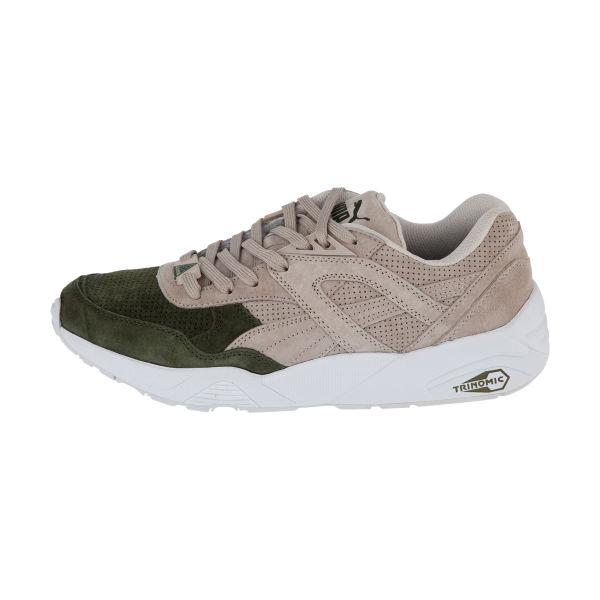 کفش پیاده روی مردانه پوما مدل TRINOMIC R698 دو رنگ