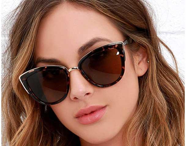 عینک آفتابی زنانه گربه ای