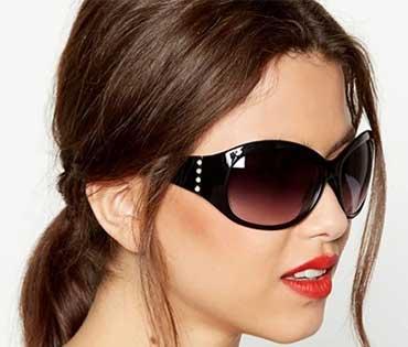 عینک دودی پوشاننده