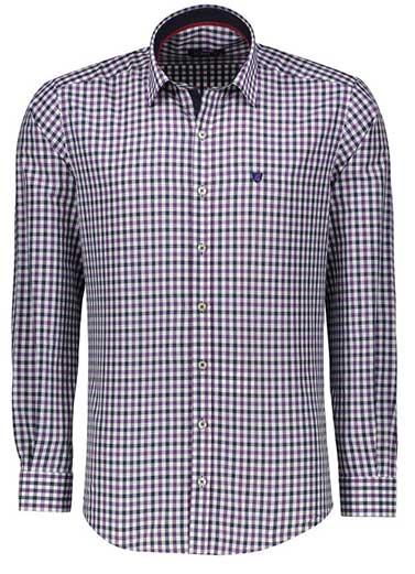 پیراهن مردانه شیک چهارخونه
